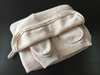 Cashmere Travel Set, Eyemask, Socks, Blanket, Bag-White