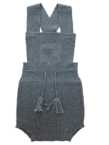 Baby Strap Cashmere Rompers for 6 To 12 Months Baby
