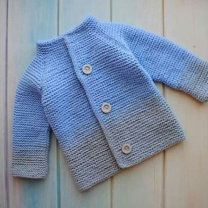 Baby Cashmere Autumn Button Knitted Sweater