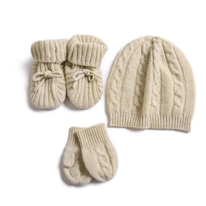 Cashmere Hat and Glove set
