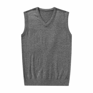 Men Cashmere Vest Sweater