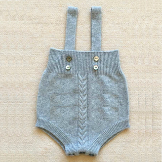 Baby Strap Cashmere Rompers