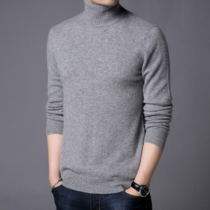 Men Cashmere Turtleneck Sweater