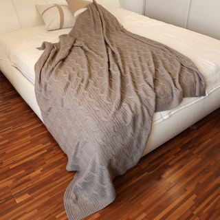 Full Size Solid Color Cashmere Blanket
