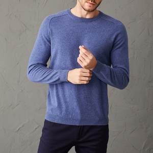 Men Pullover Cashmere Sweater