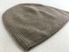 Stripped Cashmere Beanie